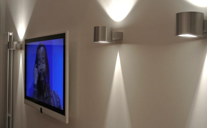 TV wall lighting